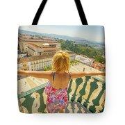 Coimbra Aerial Woman Tote Bag