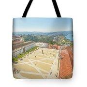 Coimbra University Aerial Tote Bag