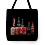 Coke From Around The World Tote Bag