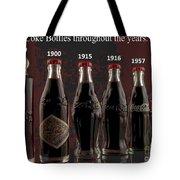 Coke Through Time Tote Bag