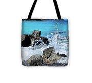 Coki Beach Seascape Tote Bag