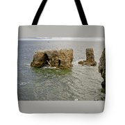 Cold Day At The Seaside. Tote Bag