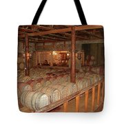 Colchagua Valley Wine Barrels Tote Bag