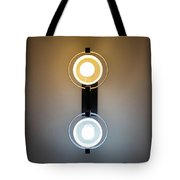 Cold And Warm Light Tote Bag