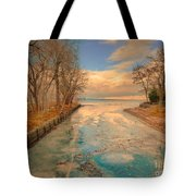 Cold And Warmth Tote Bag
