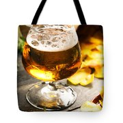 Cold Beer And Delicious Snacks Tote Bag