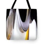 Cold Calla Poles Tote Bag