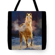 Cold Day For A Warm Welcome Tote Bag