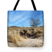 Cold Dune Day Tote Bag