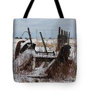 Cold Entanglement Tote Bag