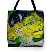 Cold Feet At Midnight Tote Bag