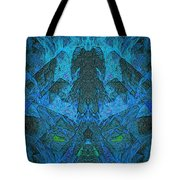 Cold Fire Tote Bag