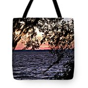 Cold Florida Sunset Tote Bag
