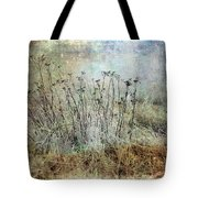 Cold Flowers Tote Bag