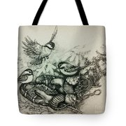Cold Hands, Warm Heart Tote Bag