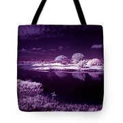 Cold Landscape Tote Bag