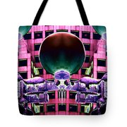 Cold Lights Tote Bag