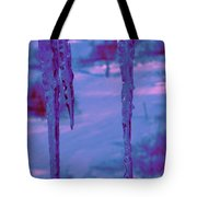 Cold Night Falling Tote Bag