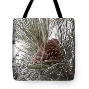 Cold Pine Tote Bag
