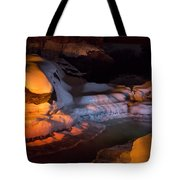 Cold River Candle Tote Bag