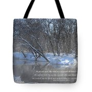 Cold-snow Tote Bag