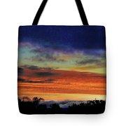 Cold Sunrise Tote Bag