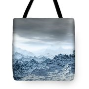 Cold Weather Environment Tote Bag