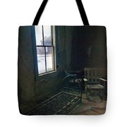 Cold Window Light Tote Bag