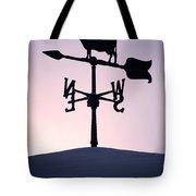 Cold Winter Sky Tote Bag