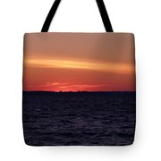 Cold Winter Sunset 1 Tote Bag