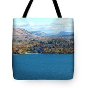 Coldstream Valley In Autumn Tote Bag