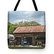 Coldwater Vintage Carriage House Tote Bag