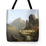 Cole: Last Of The Mohicans Tote Bag