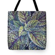 Coleus Leaves Tote Bag