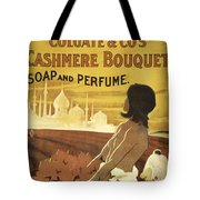 Colgate Cashmere Bouquet Advertising Poster Tote Bag