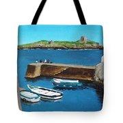 Coliemore Harbour, Dalkey Tote Bag