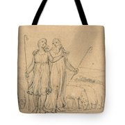 Colinet And Thenot Tote Bag