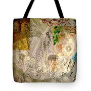 Collage 23 Faces Tote Bag