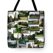 Collage Cornell University Ithaca New York Vertical 02 Tote Bag
