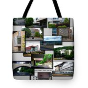 Collage Ithaca College Ithaca New York Vertical Tote Bag