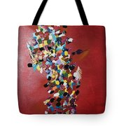 Collage Of Color Tote Bag