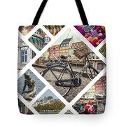 Collage Of Copenhagen  Tote Bag