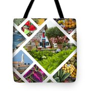 Collage Of Madeira  Tote Bag