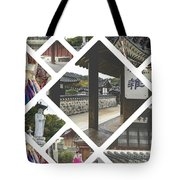 Collage Of Seoul Tote Bag