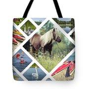 Collage Of Suwalki  Tote Bag