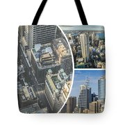 Collage Of Sydeny Tote Bag