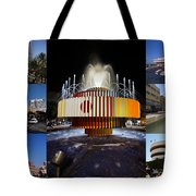 Collage Of Tel Aviv Israel Tote Bag