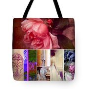 Collage So Rosey Tote Bag