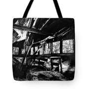 Collapsed Roof Tote Bag