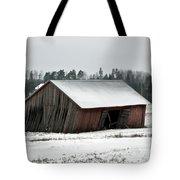 Collapsing Barn Tote Bag